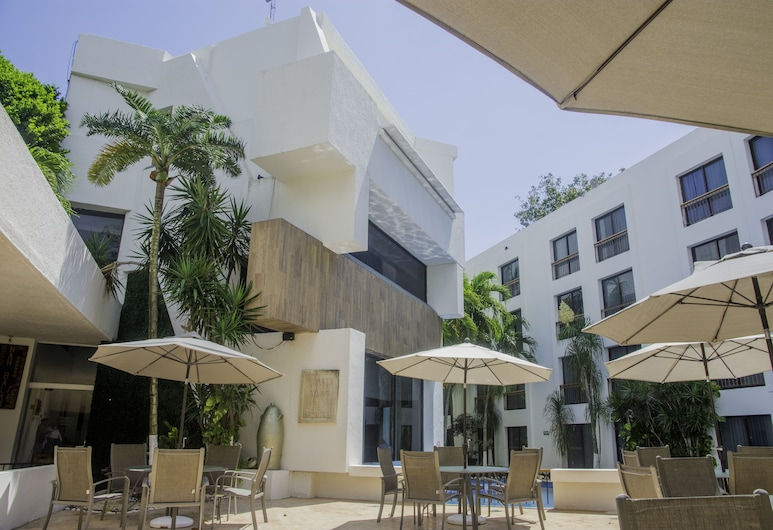Capital Plaza Hotel, Chetumal, Terase/iekšējais pagalms