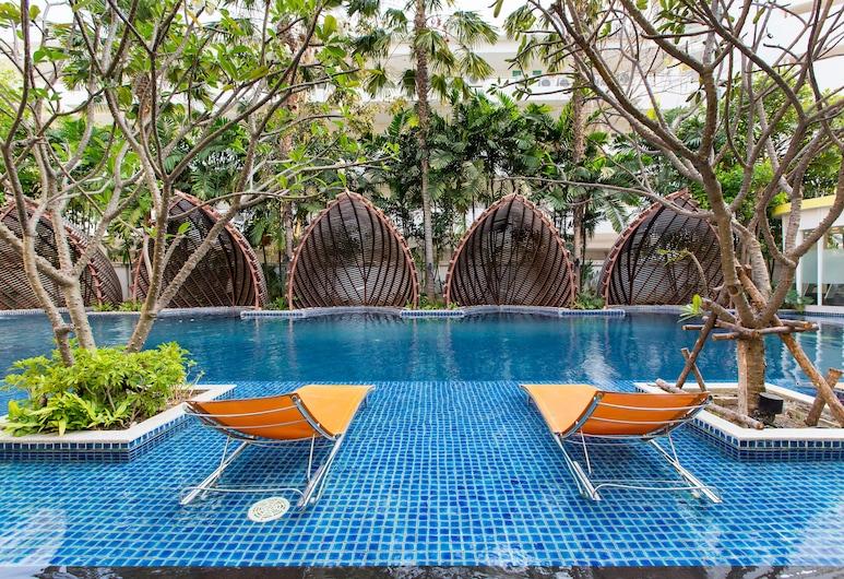 米科諾斯海灘公寓酒店, Hua Hin, 室外泳池