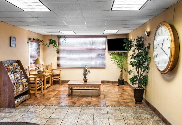 Rodeway Inn East, Albuquerque, Lobby