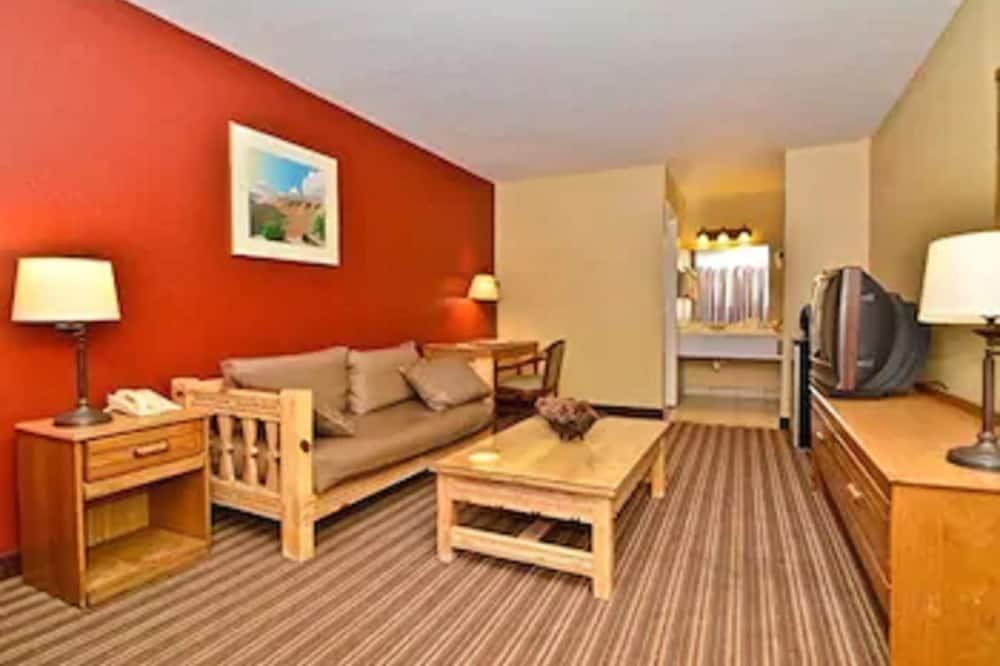 Standard Δωμάτιο, 2 Διπλά Κρεβάτια, Μη Καπνιστών (Lower Floor) - Καθιστικό