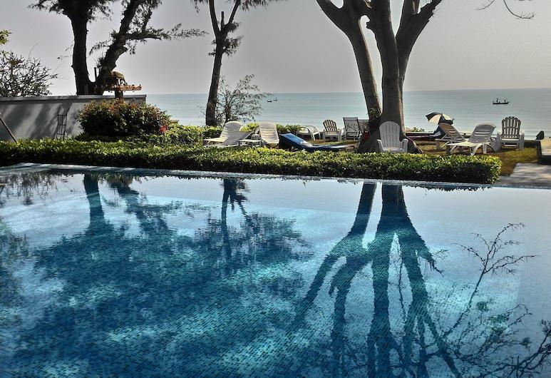 桑道海灘之家公寓酒店, Hua Hin, 室外泳池