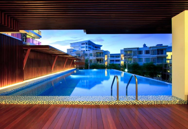 羅可華欣海灘海景酒店, Hua Hin, 室外泳池