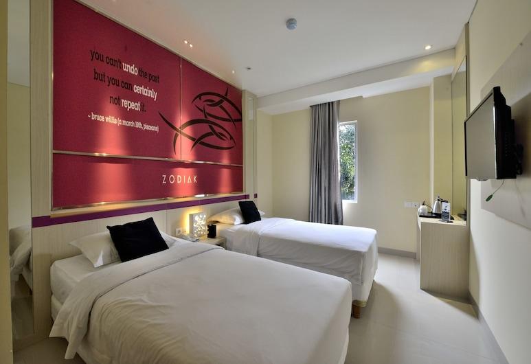 Zodiak @Kebon Kawung, Bandung, Superior Twin Room Only, Zimmer
