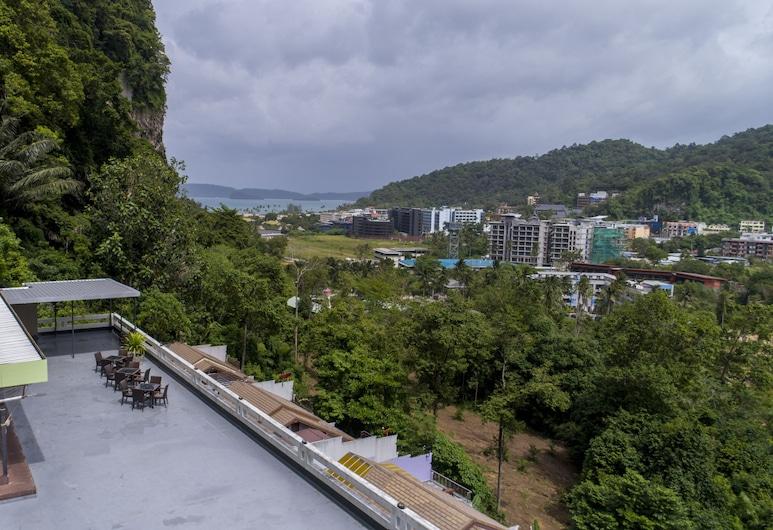 Aonang Mountain View Hotel, Krabi, Terras