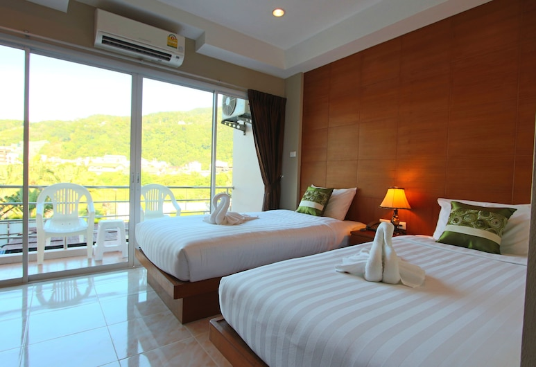 Good Nice Hotel Patong, Patong, Superior Twin Room, Hill View, Guest Room