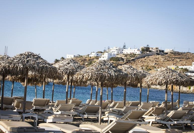 Asteri Hotel, Mykonos, Praia