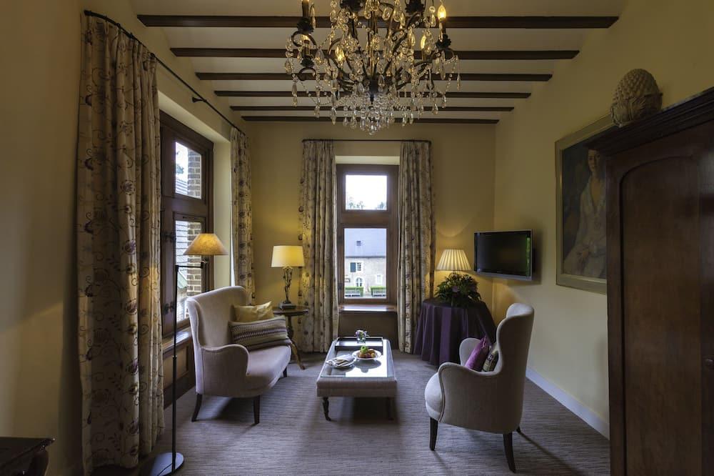 Phòng Suite, 1 giường cỡ king - Phòng khách