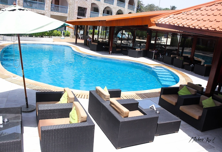 Riviera Taouyah Hotel, Conakry, Pool