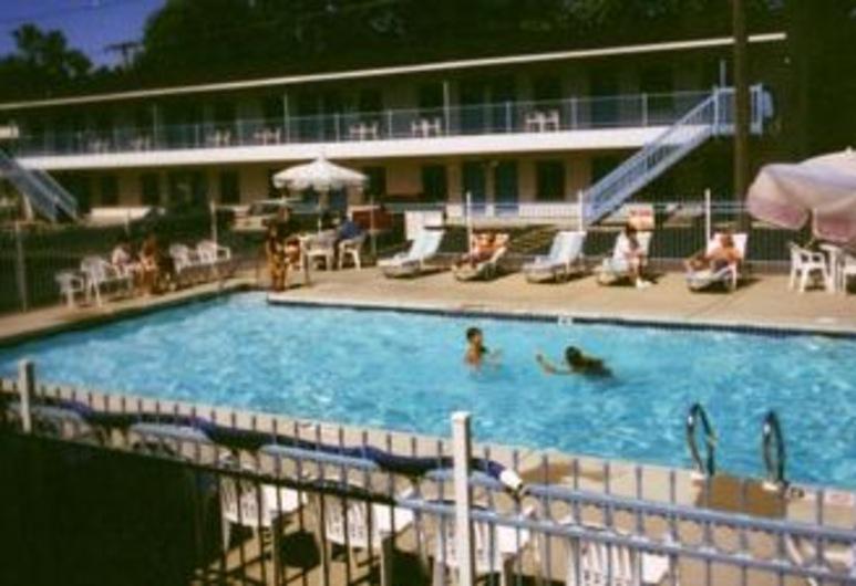 Starlite Motel, Wisconsin Dells, Lauko baseinas
