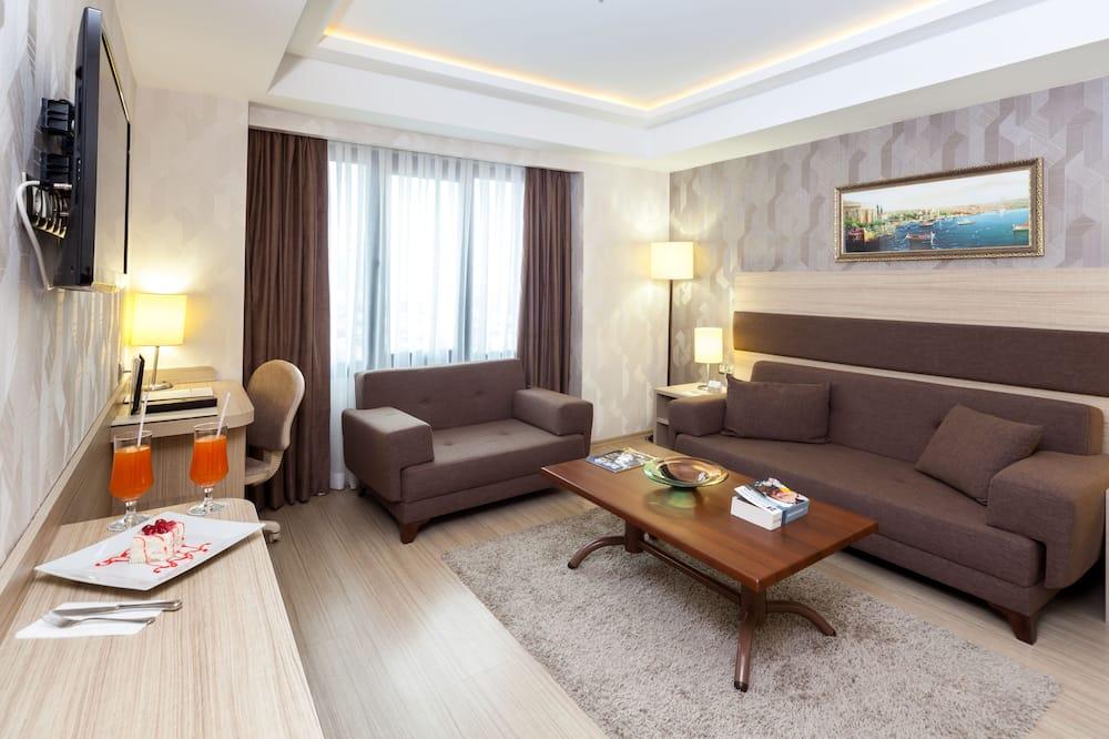 Delux Junior Suite - Living Area