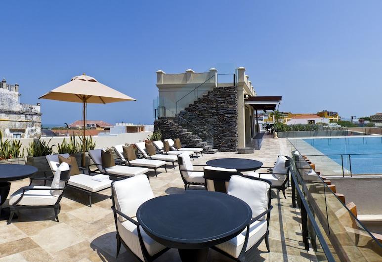 巴斯蒂安豪華酒店, Cartagena, 泳池