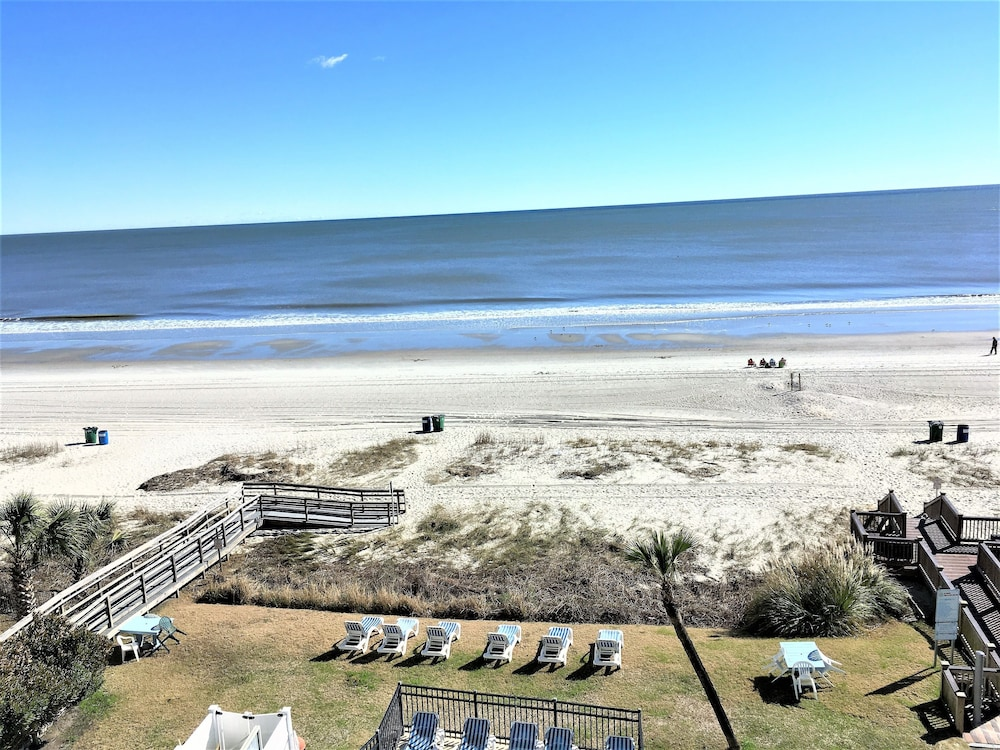 The Waves Hotel At Myrtle Beach Balcony View