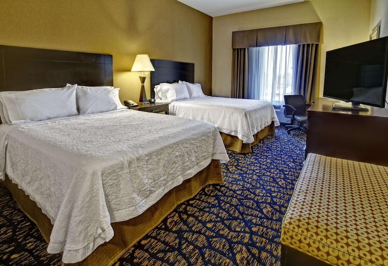 Hampton Inn Clarksdale, Clarksdale, Room, 2 Queen Beds, Accessible, Non Smoking (Hearing), Guest Room