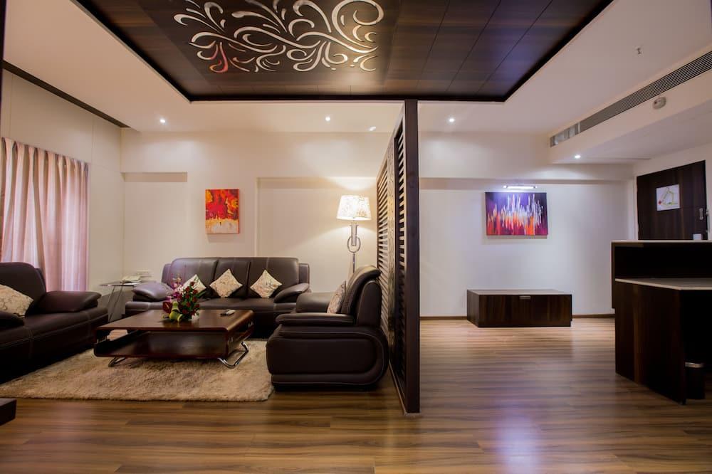 Apartament prezydencki typu Suite, Łóżko podwójne - Salon