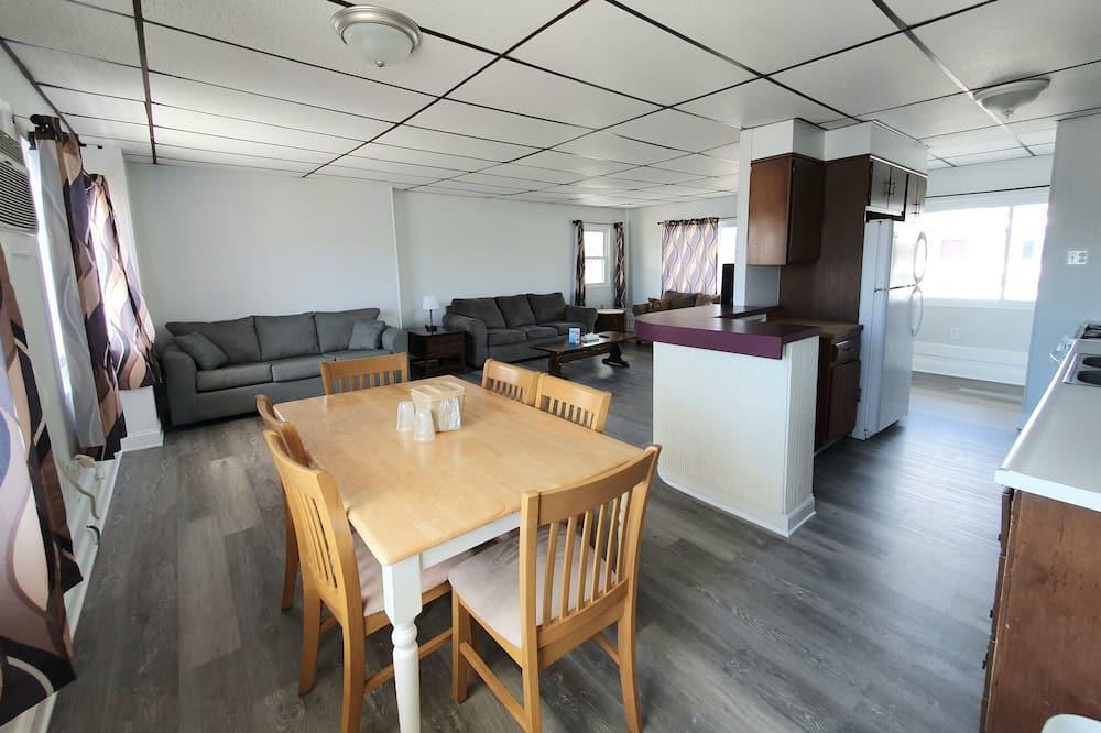 Appartement, 1 chambre, cuisine, vue partielle sur l'océan - Restauration dans la chambre