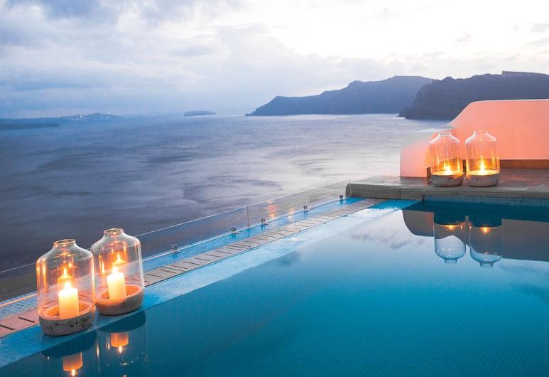 Santorini Secret Suites & Spa, Santorini, Utendørsbasseng