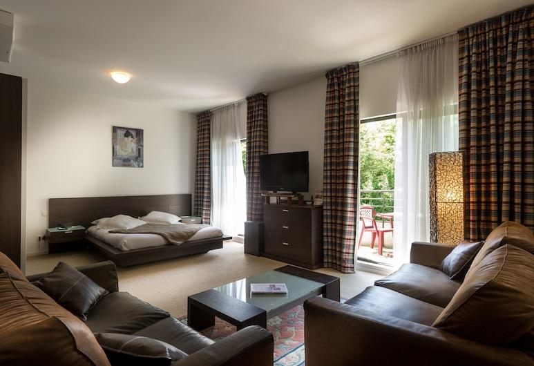 오텔 마르소, Amneville, 스위트, 거실 공간
