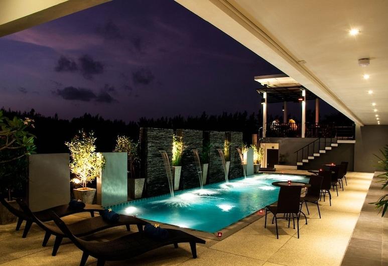 亞敏渡假村, Choeng Thale, 室外泳池