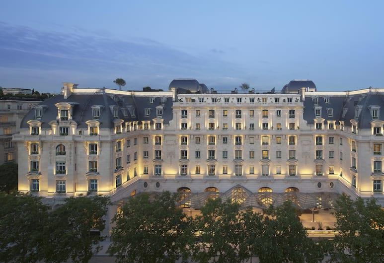 The Peninsula Paris, Paris, Hotel Front – Evening/Night