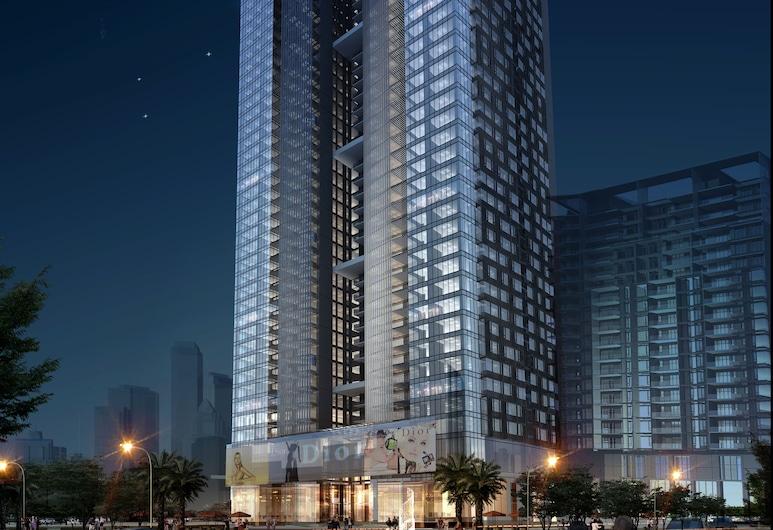 廣州頤和公寓酒店(原廣州頤和盛世大酒店), 廣州市, 住宿正面 - 夜景