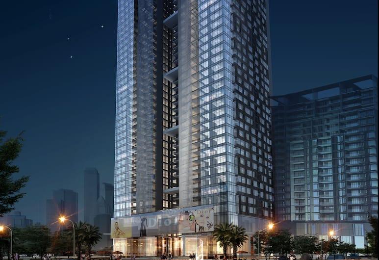 Guangzhou YiHe Apartment, Guangzhou, Front of property – evening