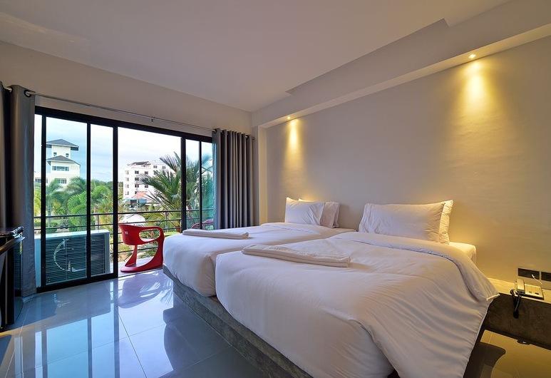 Riverside Hotel, Krabi, Standaard Twin kamer (with Balcony), Kamer