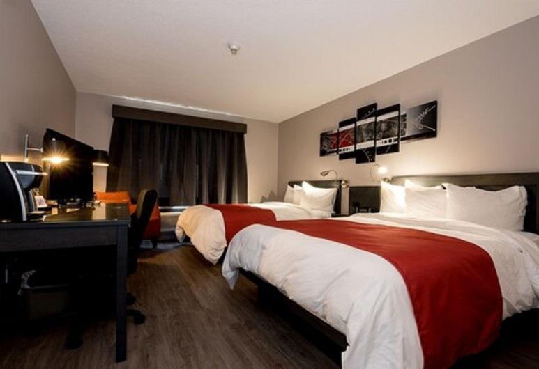 Hôtel L'Empress, Rimouski, Superior Room, 2 Double Beds, Guest Room