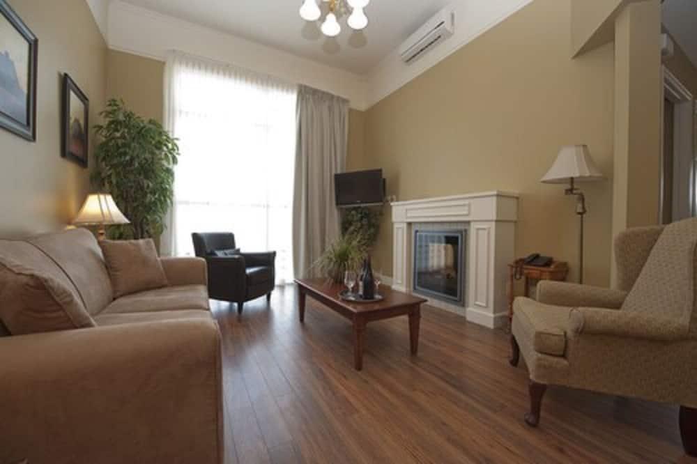 Apartmán, 2 ložnice, kuchyňský kout - Obývací pokoj