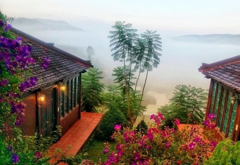 大村達拉特大阪村酒店, 大叻, 豪華單棟小屋, 客房景觀