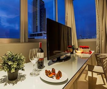 Mynd af OZ Hotel í Cartagena