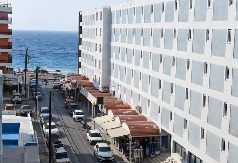 Vassilia Hotel, Rodosz, Külső rész