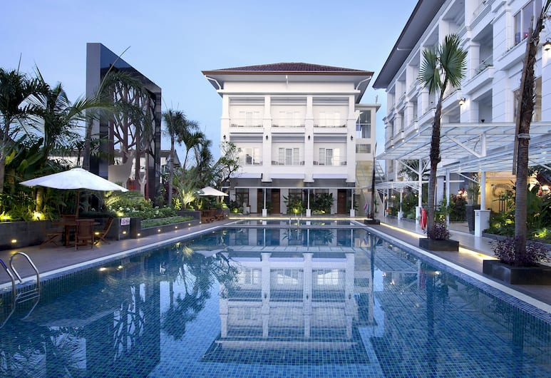 ギャラリー プラウィロタマン ホテル, ジョグジャカルタ, 屋外プール