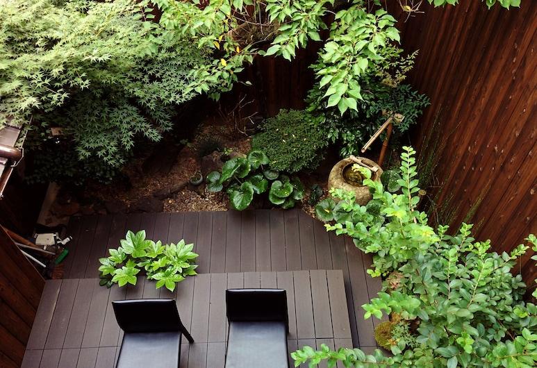 雅順旅館 - 青年旅舍, Kyoto, 花園