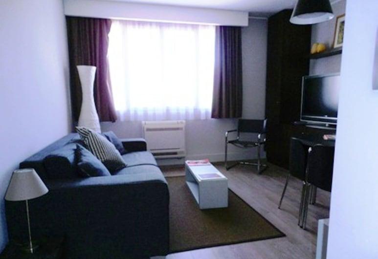 Arthur Properties Rue d'Antibes, Cannes, Íbúð - 1 svefnherbergi (74/84 rue d'Antibes), Stofa
