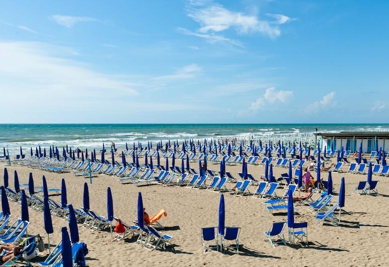 Continental Resort, Pisa, Pláž