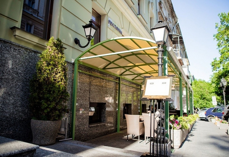 Duke Hotel, Odessa, Terrace/Patio