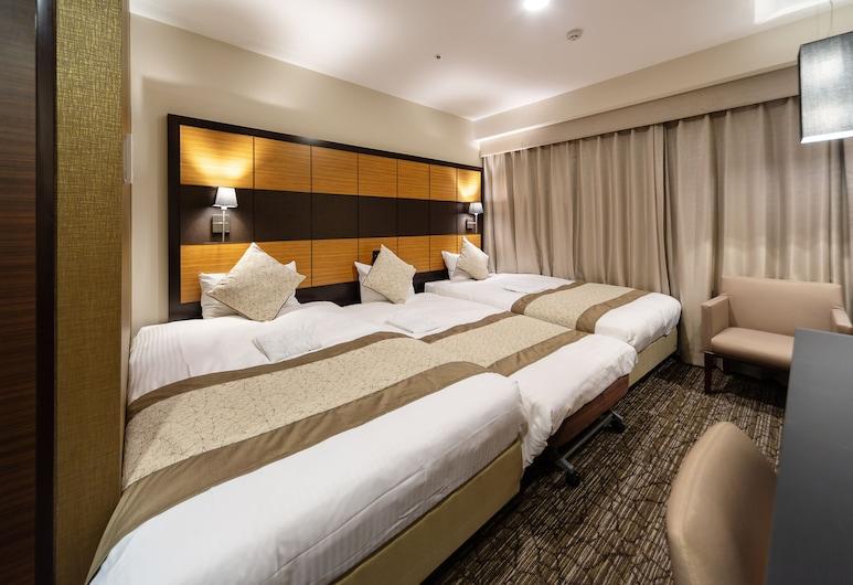 ホテルウィングインターナショナルプレミアム東京四谷, 新宿区, スタンダードトリプルルーム 禁煙 (120CMベッド), 部屋