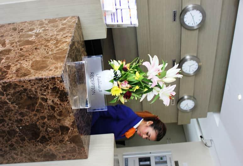 Welcome Hotel Apartments (Deluxe), Dubai, Reception