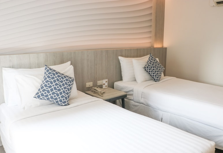 The Mini R Ratchada Hotel, Μπανγκόκ, Premier Twin with City Views, Δωμάτιο επισκεπτών
