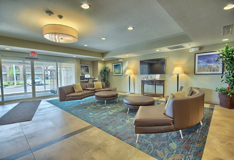 Candlewood Suites Columbus - Grove City, Grove City, Lobby Sitting Area