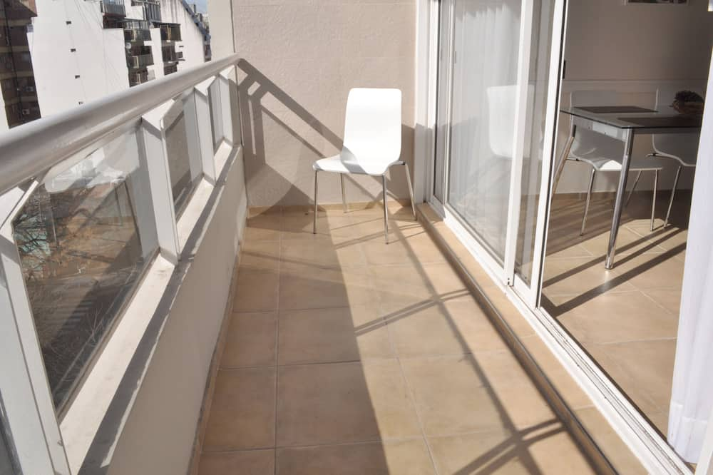 Traditional-Apartment, 1 Schlafzimmer, Küche, Stadtblick - Balkon