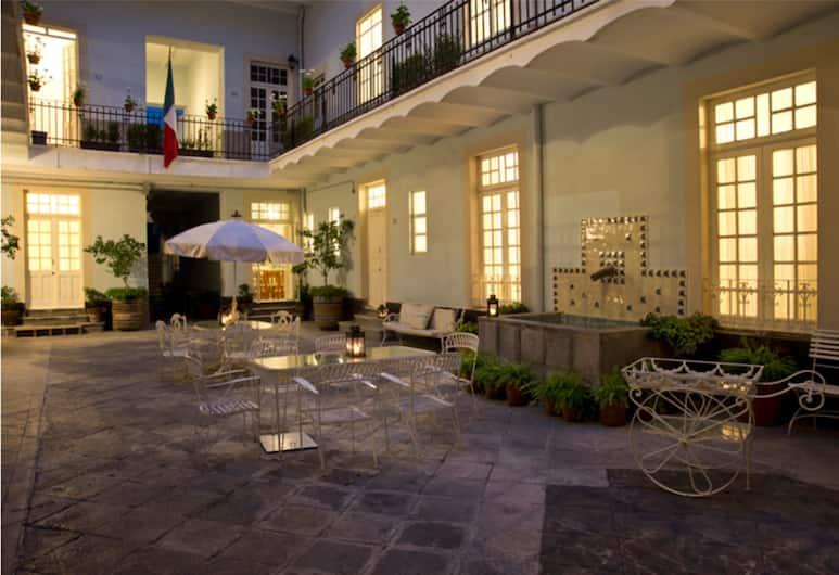 卡薩聖方索酒店, 墨西哥城, 陽台