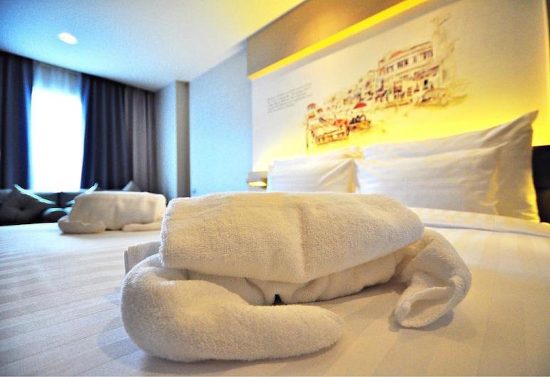 Parinda Hotel, Bangkok, Deluxe-Zimmer, Zimmer