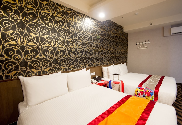 Design Ximen Hotel, Taipei, Quadruple Room, Guest Room