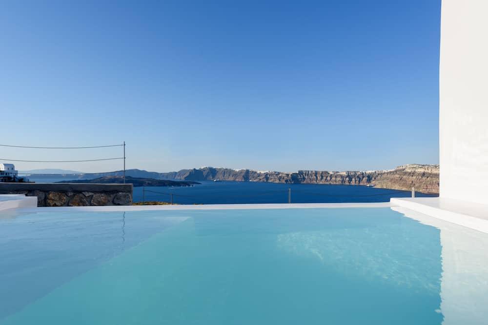 總統套房, 海景 (private plunge pool) - 陽台