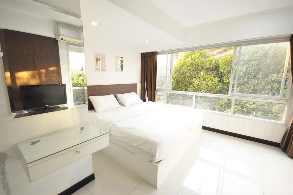 דירה משפחתית, 2 חדרי שינה, מטבח, נוף לעיר - חדר