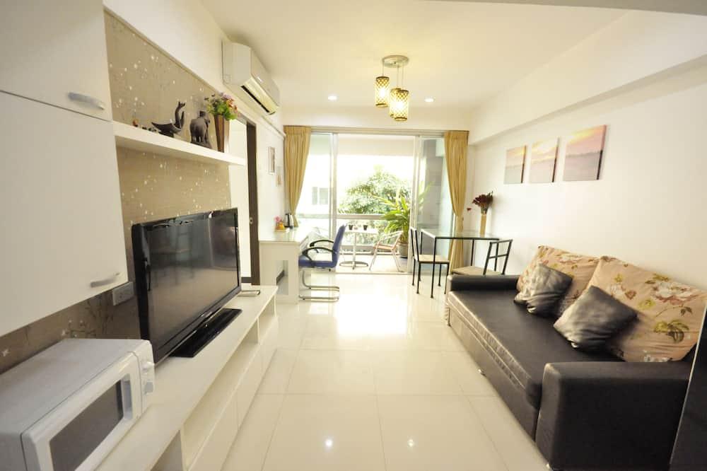 דירה משפחתית, 2 חדרי שינה, מטבח, נוף לעיר - אזור מגורים