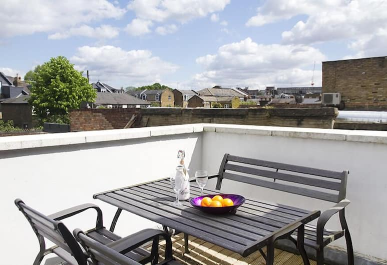 Iffley Apartments, London, Standard-Apartment, eigenes Bad (Flat 1 King Street), Terrasse/Patio