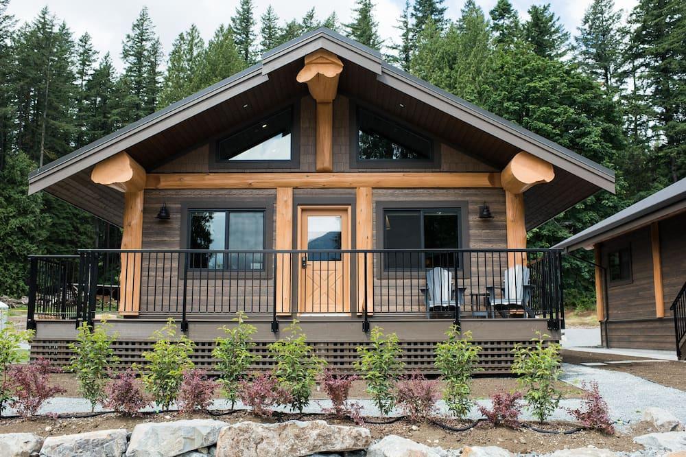 奢華小屋, 2 張加大雙人床 - 陽台