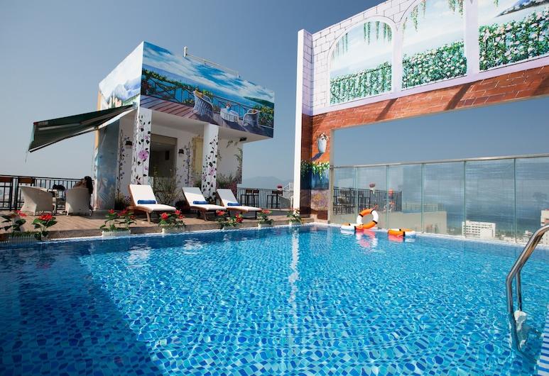 金斯芬格酒店, 峴港, 天台泳池